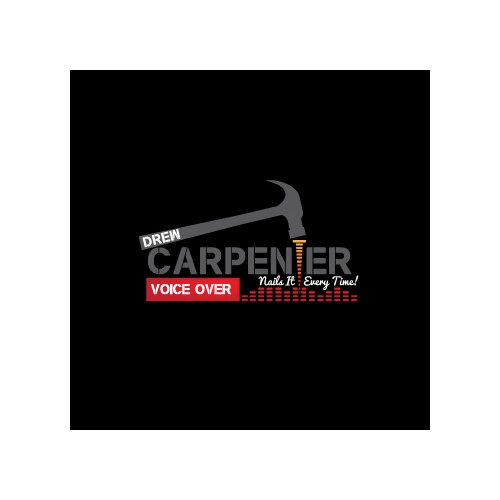 Drew Carpetner Voice Over needs a new logo