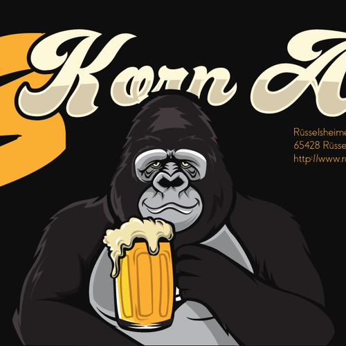 Korn Ale Beer label