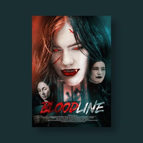 Vampire Poster Design