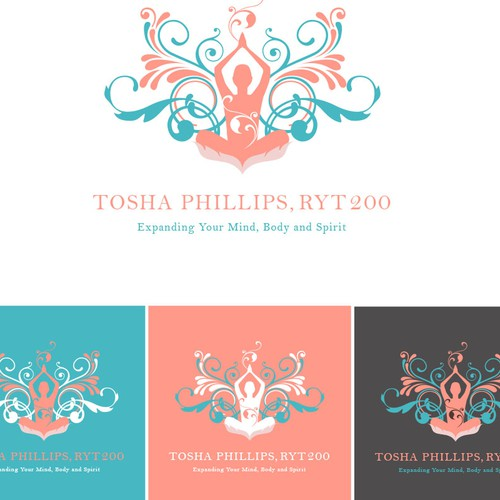 logo that portrays love, gratitude and expansion through adventure, yoga and vulnerability