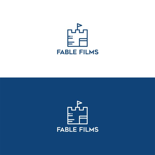 Monoline Logo for Fable Films