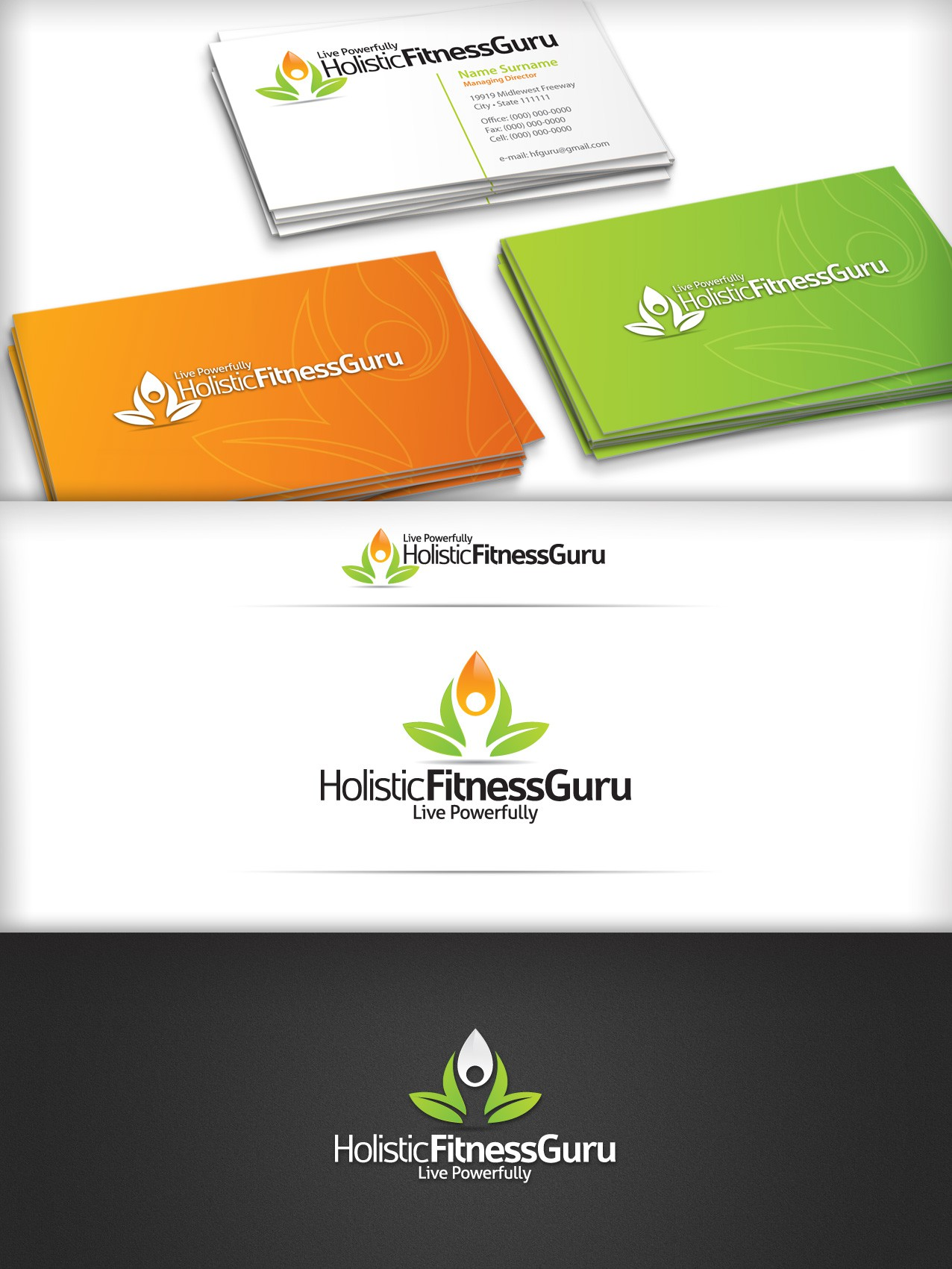 New logo wanted for Holistic Fitness Guru