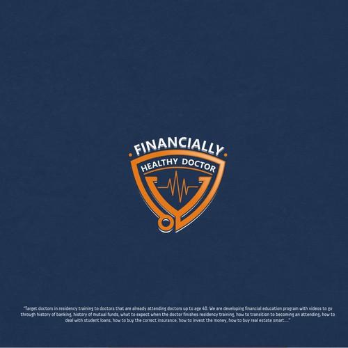 Financially Healthy Doctor Logo