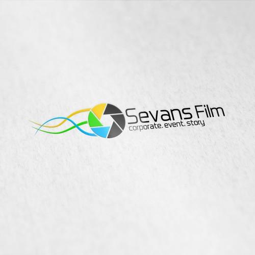 Logo for a film company