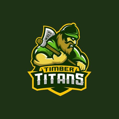 Timber Titans Team Logo
