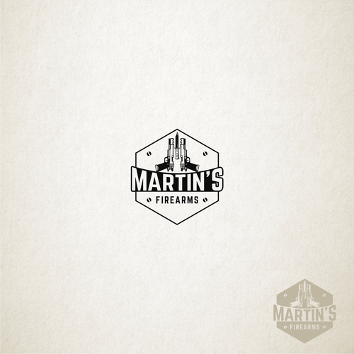 Create a memorable classic logo for high end firearms store