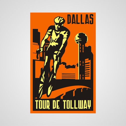 Dallas Tour de Tollway needs a new logo