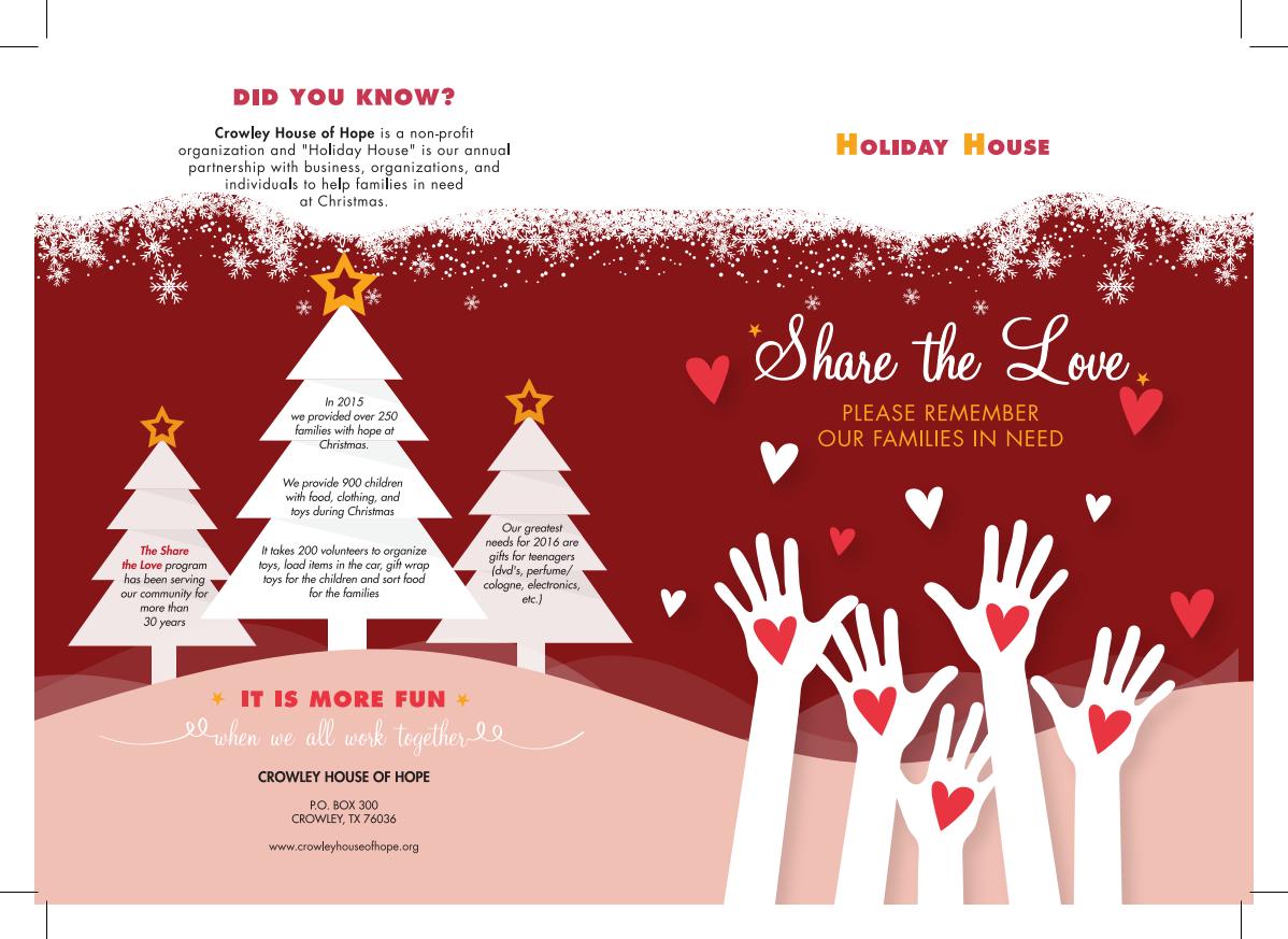 Crowley House of Hope Christmas Brochure