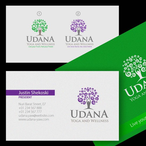 Udana Yoga and Wellness needs a new logo