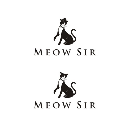 Help MEOW SIR with a new logo