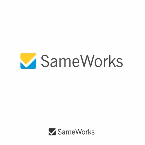 Simple iconic Logo for SameWorks