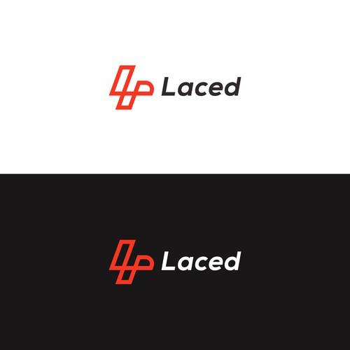 L Shoes Shape Logo