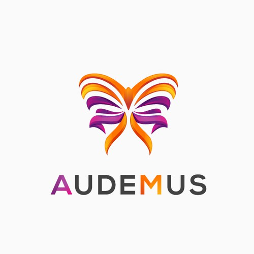 Audeo (I dare) ... you to think outside the box to create a daring logo