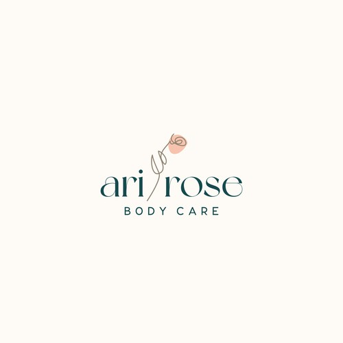 Rebrand for Ari Rose Body Care