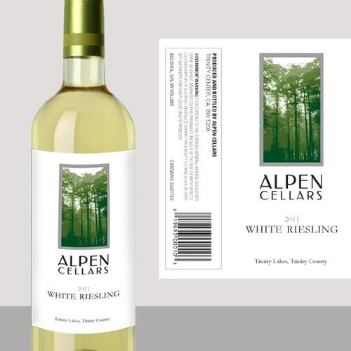 Alpen Cellars wine label