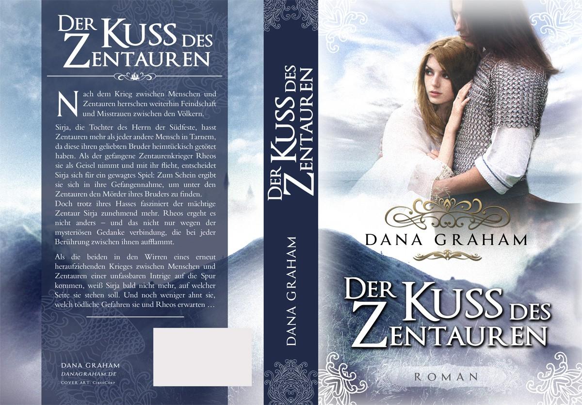 Book cover for a romantic, high fantasy novel