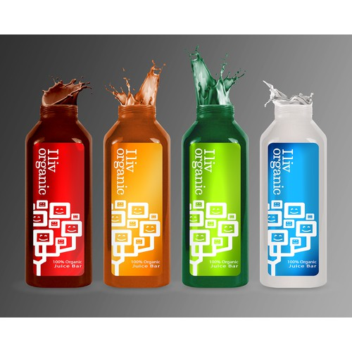Modern packaging design concept for a range of organic food products (draft only!!!)***Updated Brief***