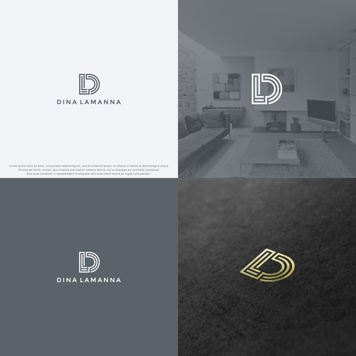 Elegant logo for Interior Design