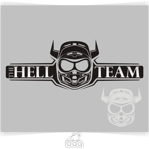 Create a Logo for THE HELL TEAM