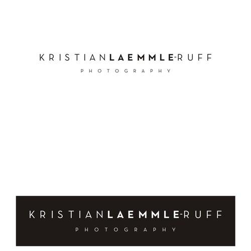 Create the next logo for Kristian Laemmle-Ruff Photography