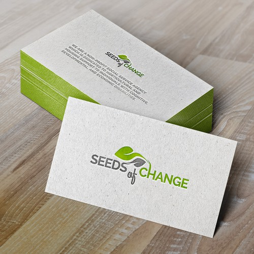 Design concept for Seeds of Change, INC.