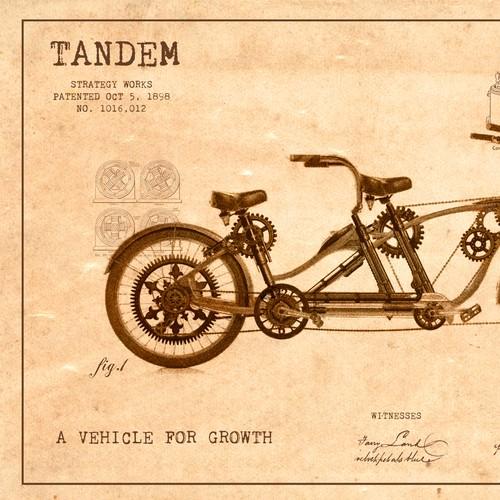 Steampunk Tandem Artwork / Finalist