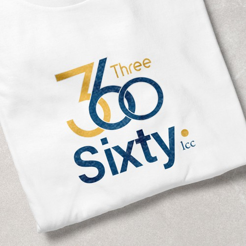 3 Sixty, LLC logo design proposal