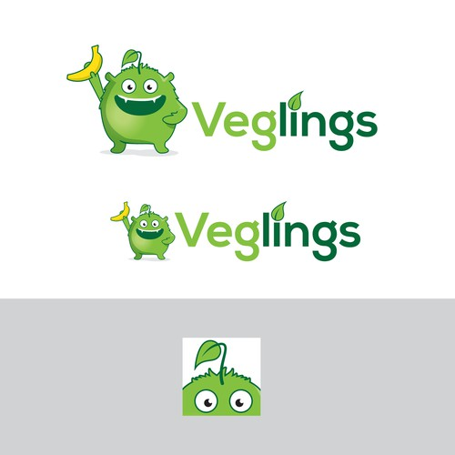 Logo for a Vegan Social Network