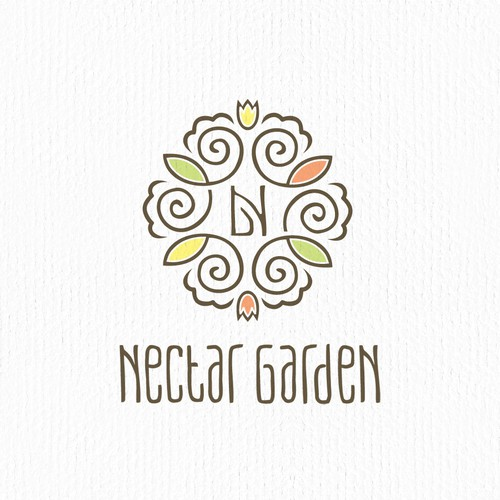 Creative Logo for Nectar Garden