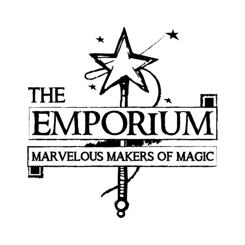 "Classic logo concept for ""The Emporium""."
