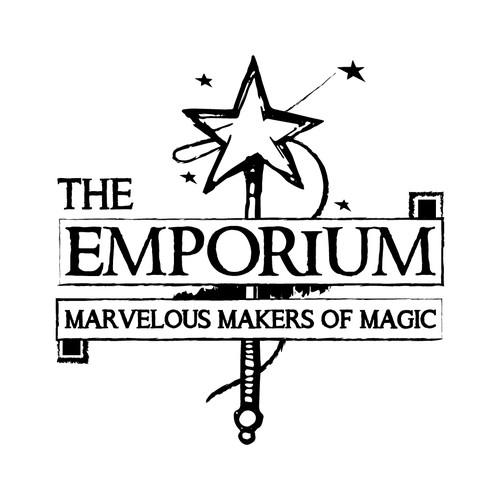 "Classic logo concept for ""The Emporium""."