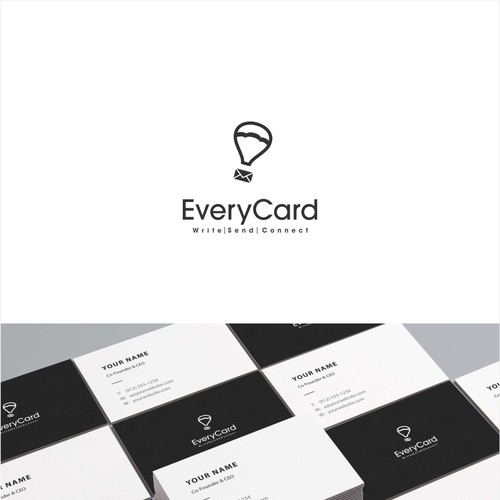 Simple logo for greeting cards company