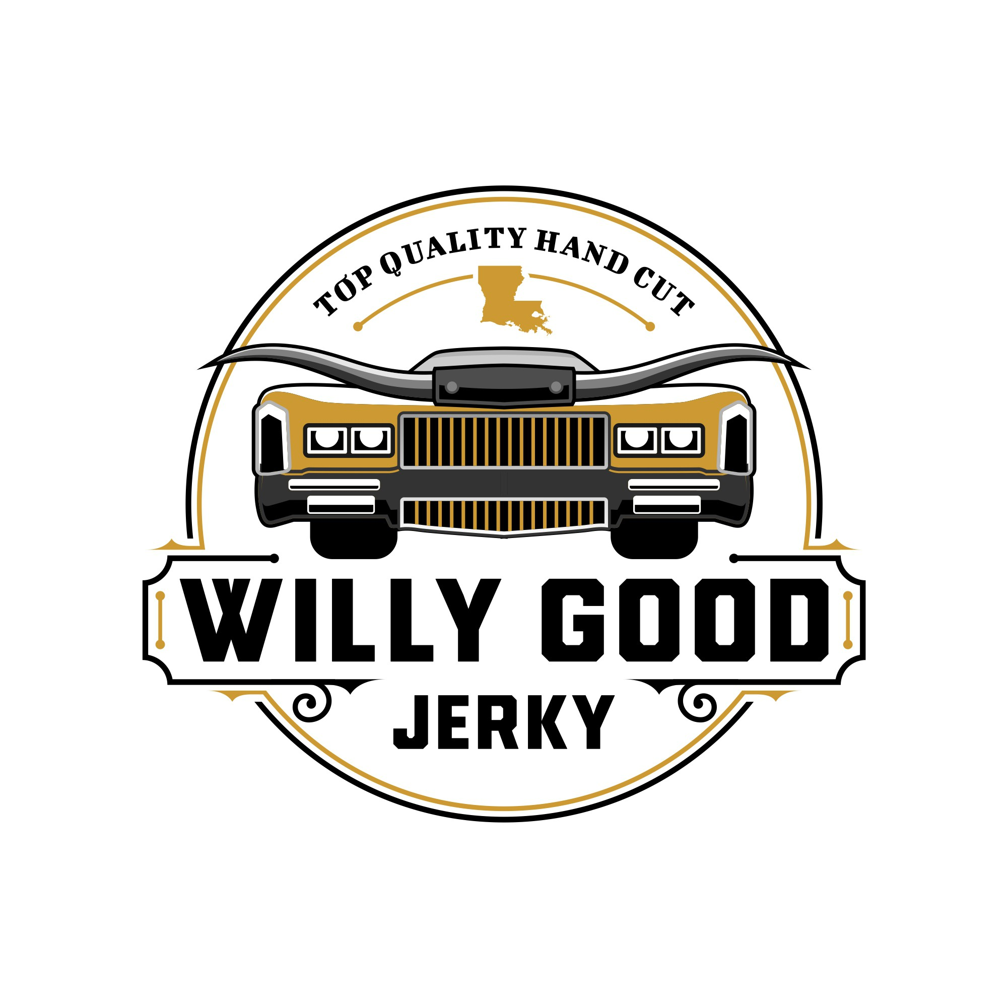 design a sweet logo for an awesome beef jerky company