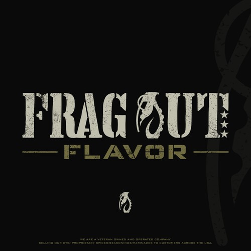 Logo design for Frag Out Flavor