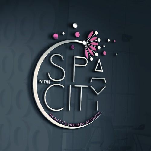 Logo for spa center