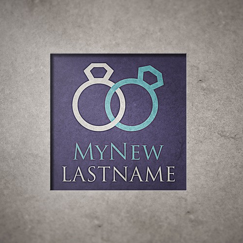 "logo idea for a company called ""MyNewLastname"""