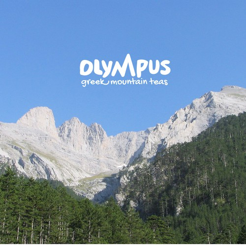 Logo design for Olympus - Greek Mountains Tea