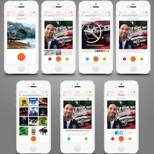 Storypic App Design