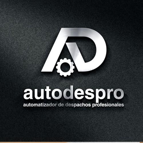 bold logo concept for autodestro