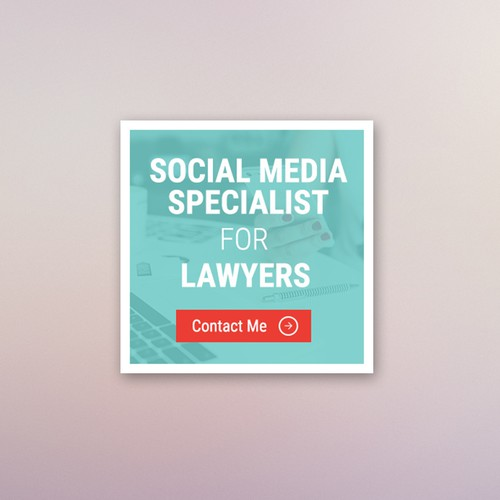 Banner Ad For Social Media Specialist