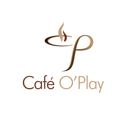 What's the best logo to say Cafe O'Play?