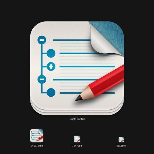 UX Write - App Icon (UX Productivity)