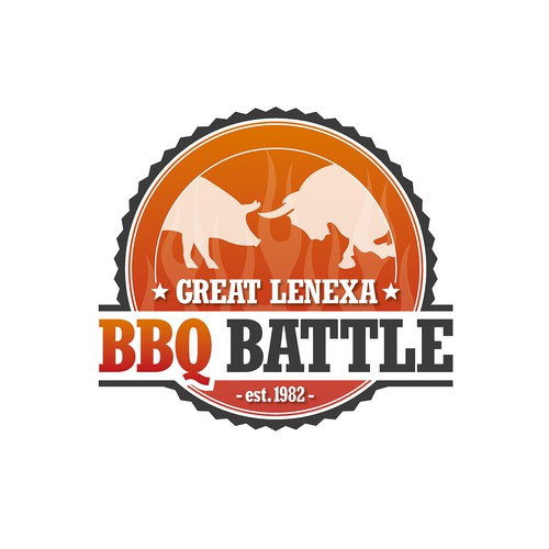 Logo für das Great Lenexa BBQ Battle