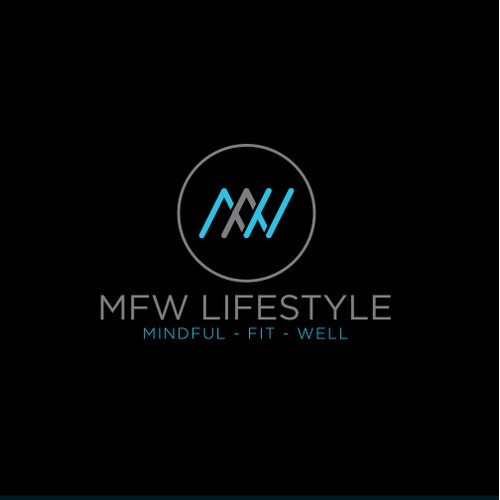 Simple and sophisticated logo for MFW Lifestyles