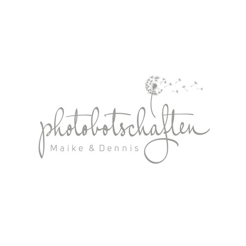 Logo design for a couple of the two photographers
