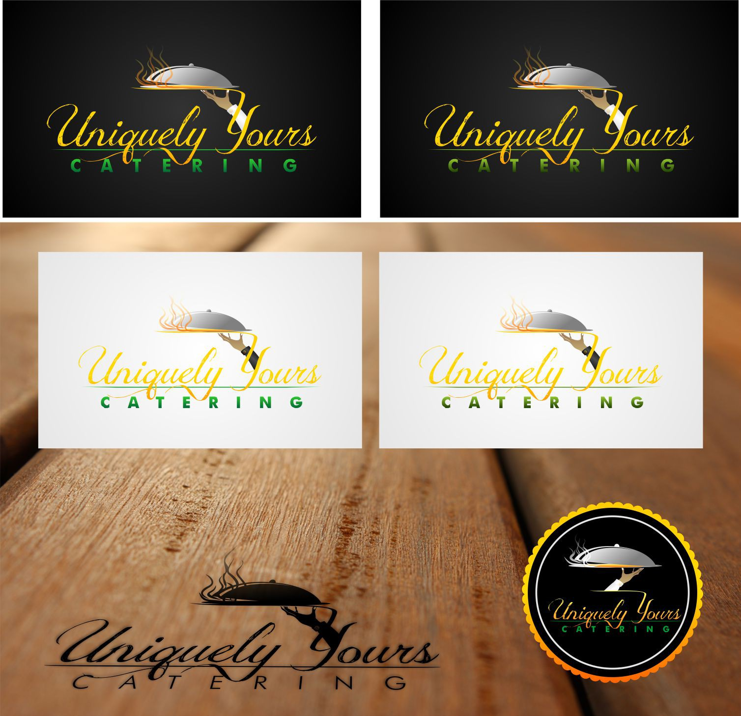 Uniquely Yours Catering needs a new logo
