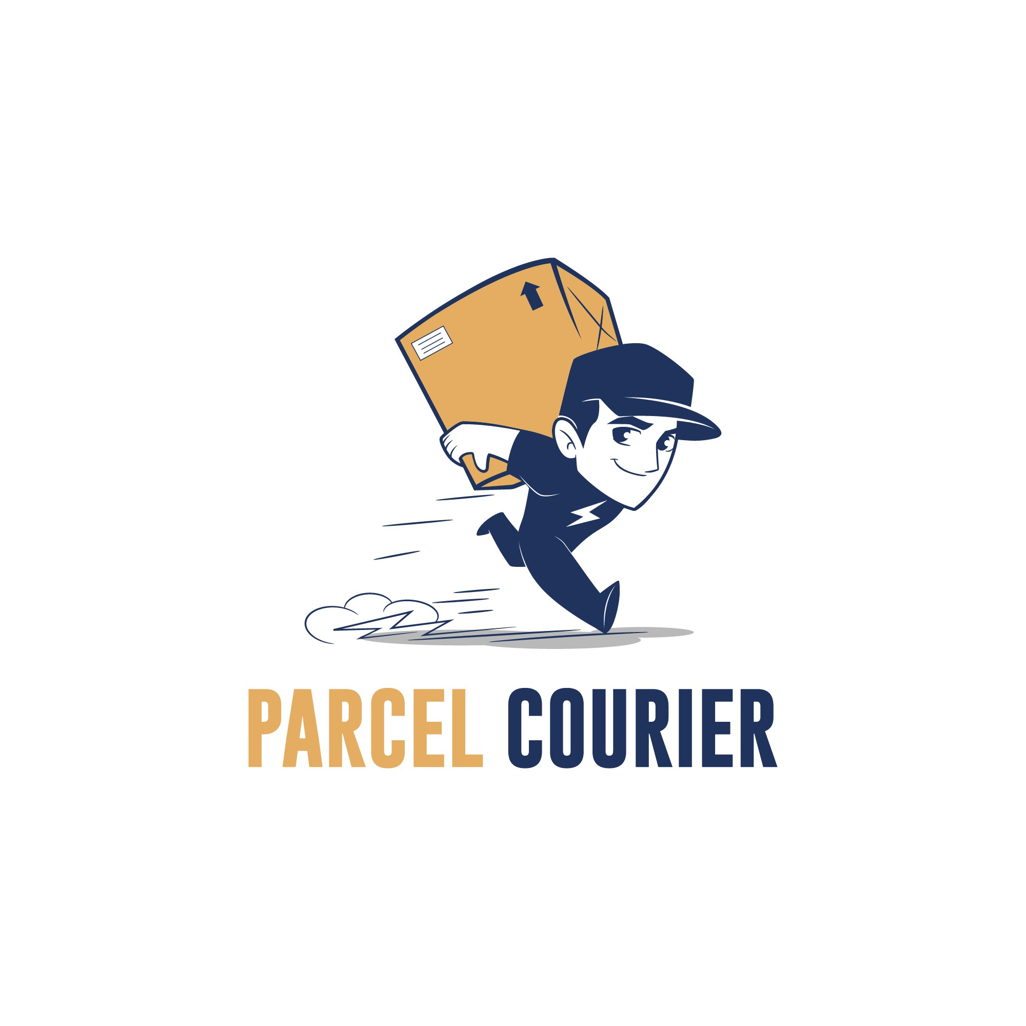 Powerful new logo for our parcel courier business