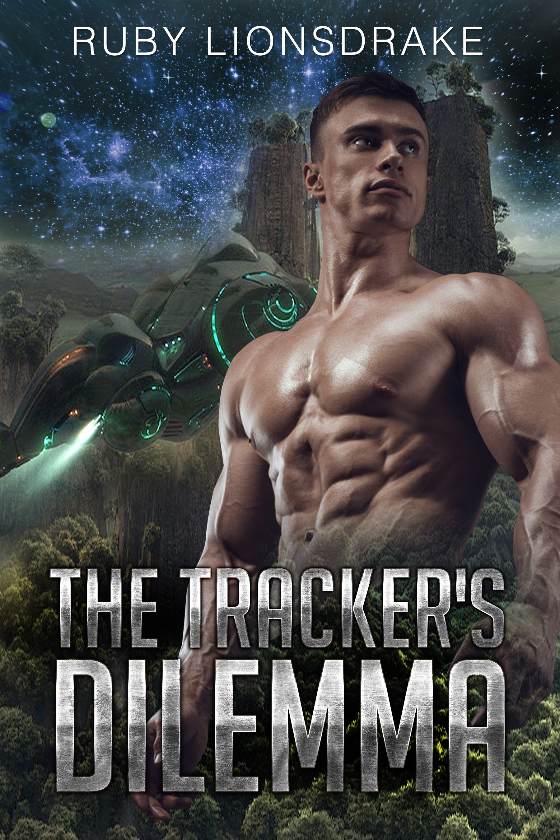 Another Science Fiction Romance Cover