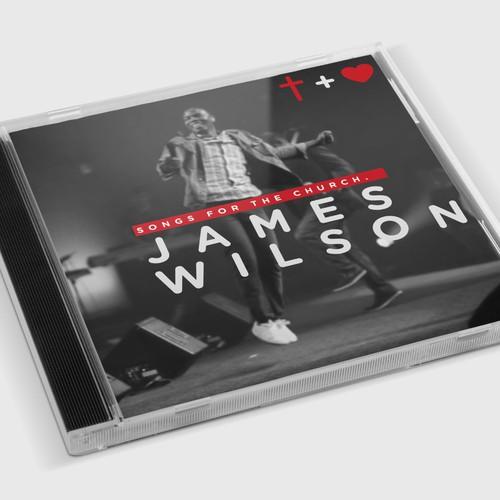 James Wilson CD Cover Design