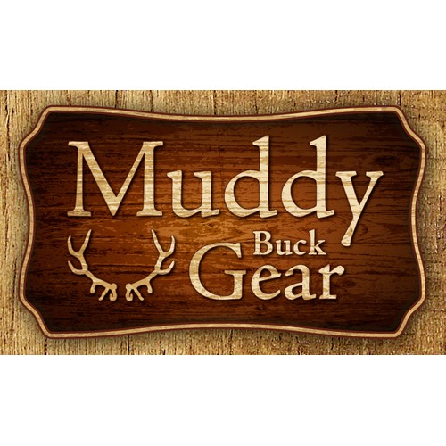 Muddy Buck Gear sign